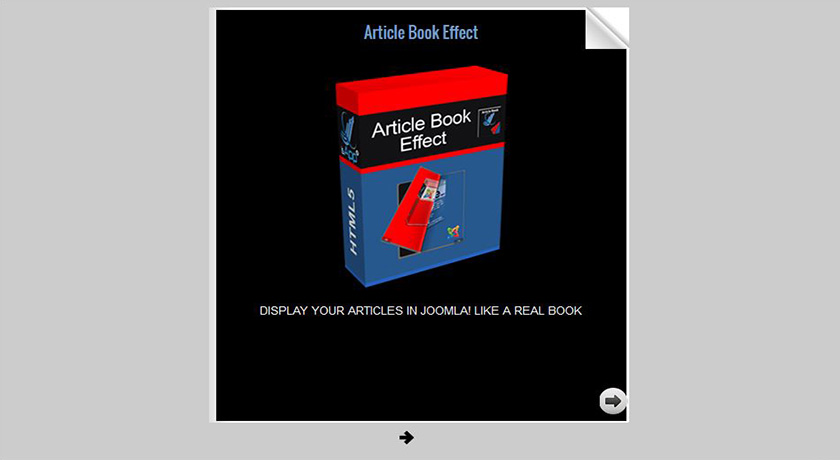 ArticleBook Effect